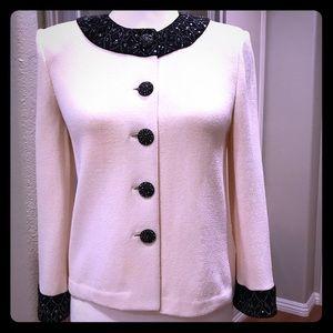 Stunning St. John Evening collection Jacket size 2